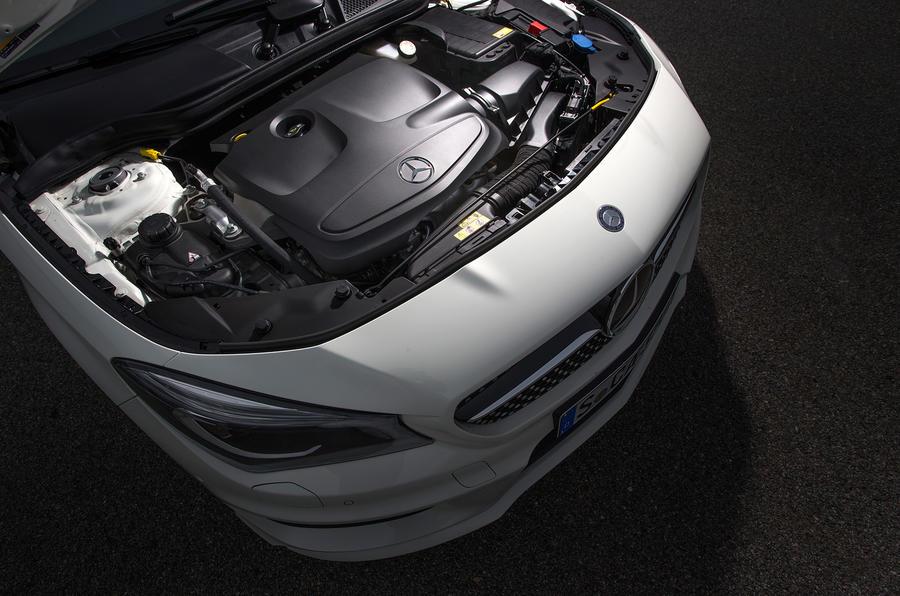 2.1-litre Mercedes-Benz CLA diesel engine