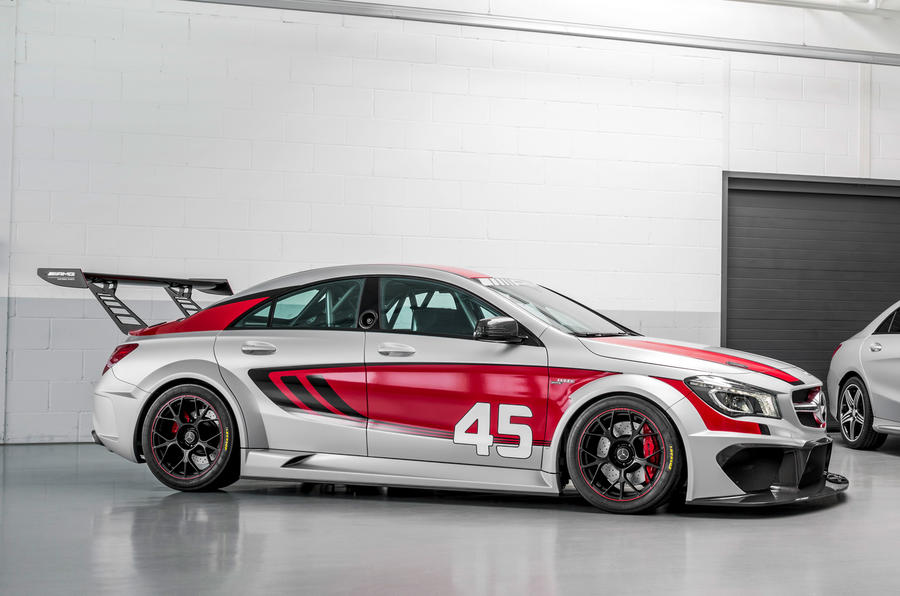 mercedes cla 45 amg racing series concept previewed autocar. Black Bedroom Furniture Sets. Home Design Ideas