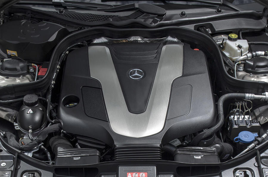 3.0-litre V6 Mercedes-Benz CLS 350 engine