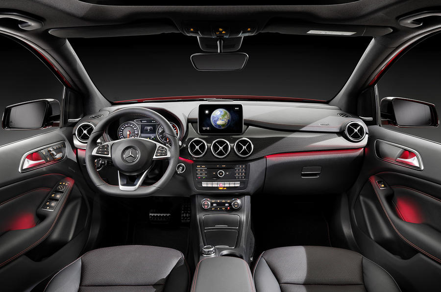 Facelifted Mercedes-Benz B-class revealed