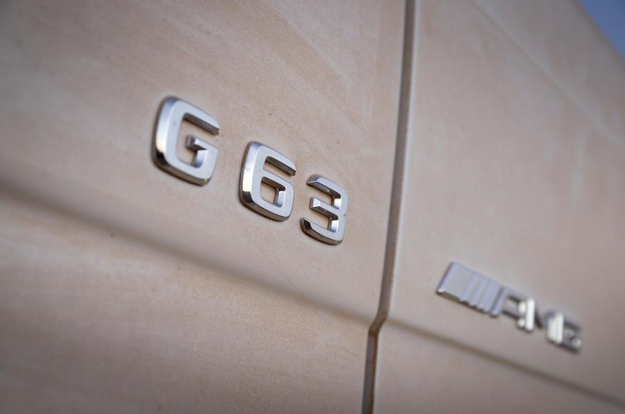 The menacing Mercedes-AMG G 63 6x6