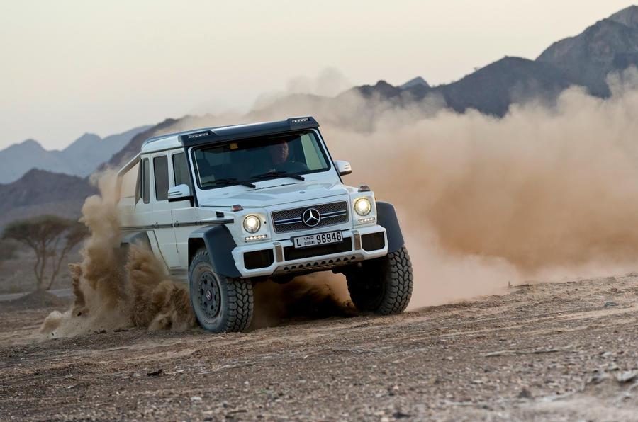 Mercedes-AMG G 63 6x6
