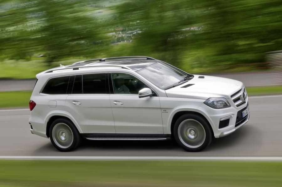 The 155mph Mercedes-AMG GL 63