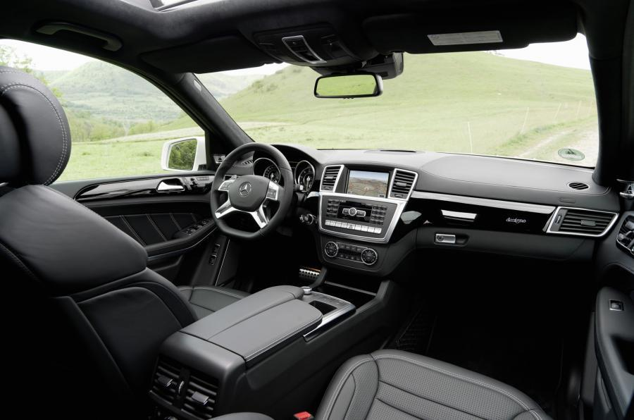 Mercedes-AMG GL 63 interior