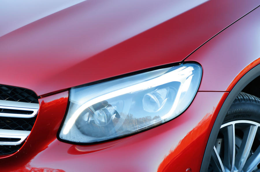 Mercedes-Benz GLC LED headlights