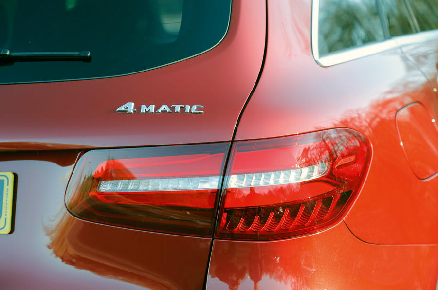 Mercedes GLC rear LED tailights