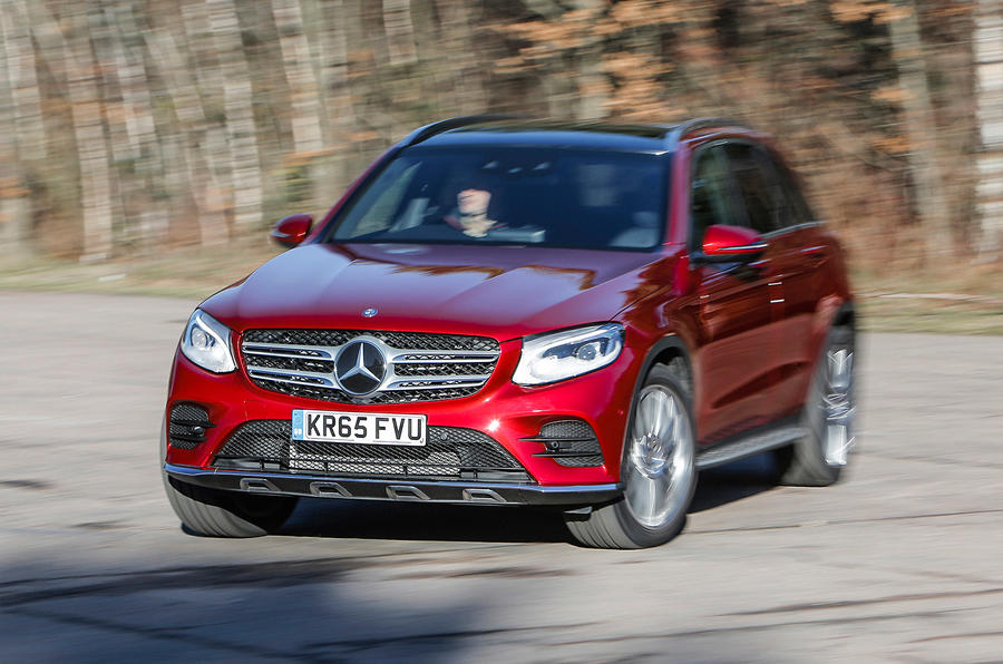 Mercedes-Benz GLC cornering