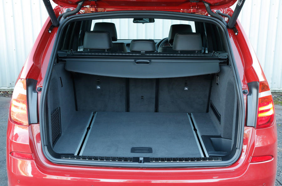 Mercedes GLC boot space