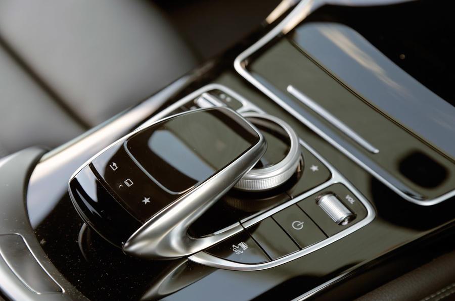 Mercedes GLC Comand infotainment controller