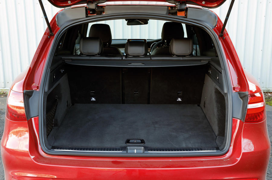 Mercedes GLC boot space minus parcel shelf