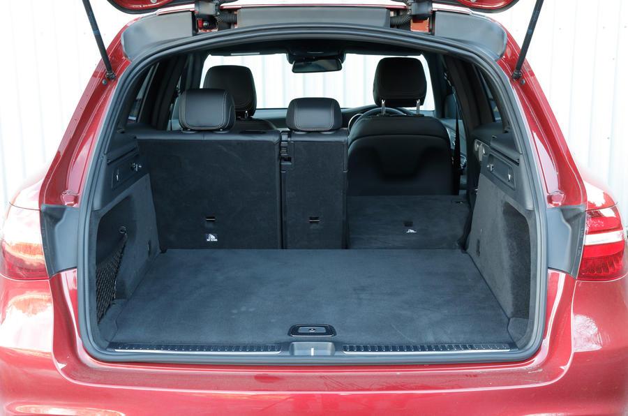 Mercedes-Benz GLC seat flexibility
