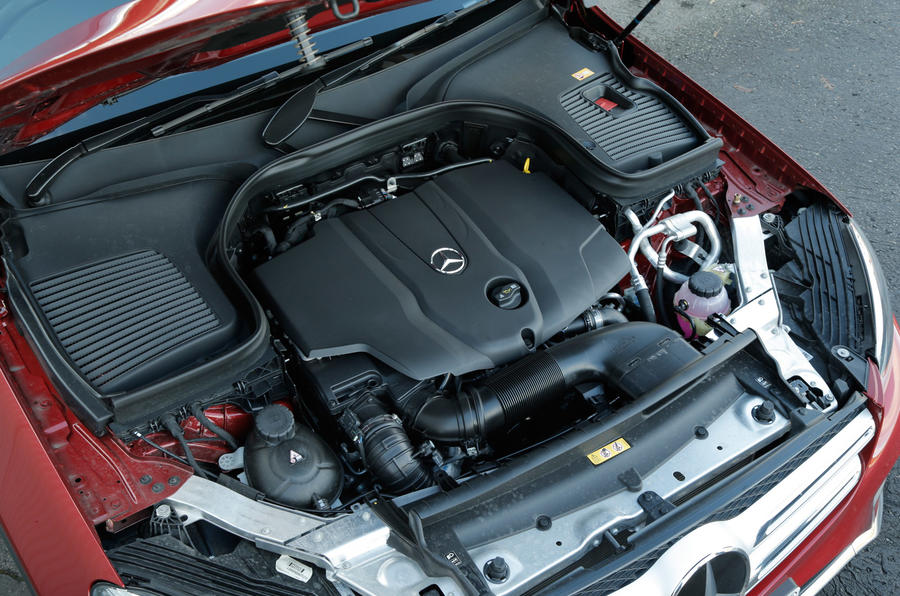 Mercedes-Benz GLC 2.1-litre diesel engine