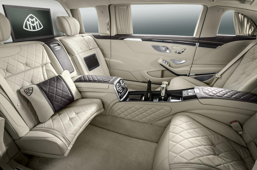 Mercedes-Maybach S 600 rear seats