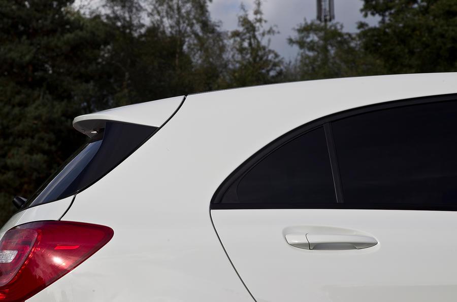 Mercedes-Benz A-Class roof spoiler