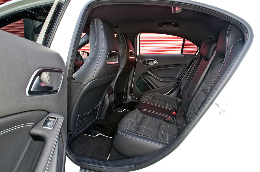 Mercedes-Benz A-Class rear seats