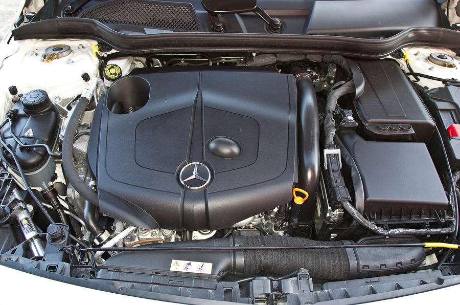 Mercedes-Benz A-Class 1.8-litre diesel engine