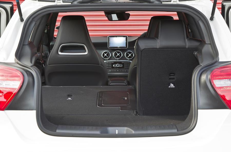 Mercedes-Benz A-Class boot space