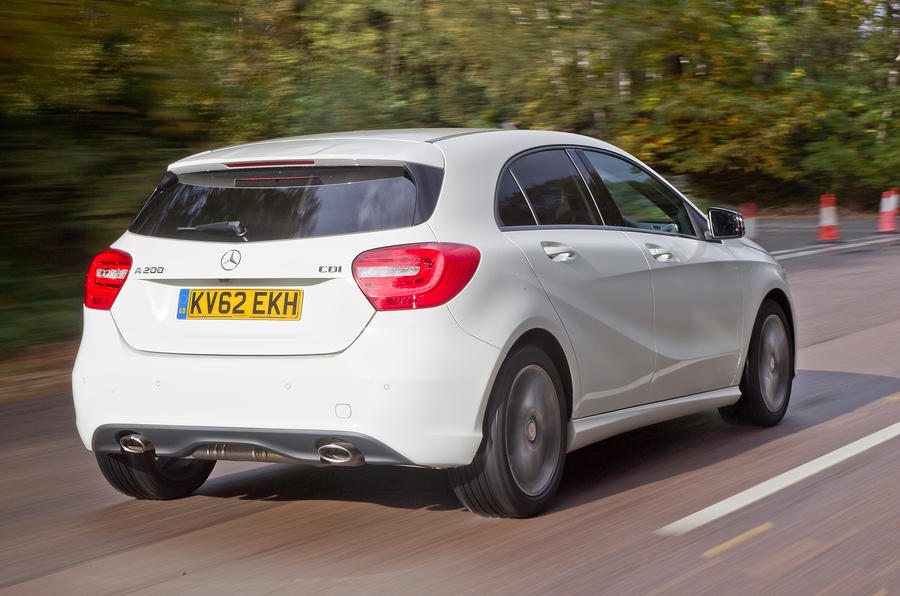Mercedes-Benz A-Class rear quarter