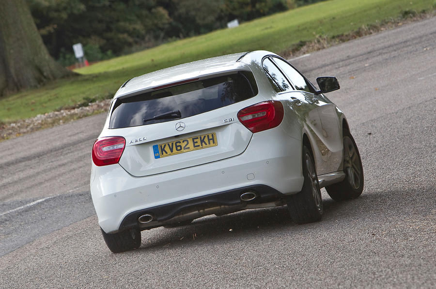 Mercedes-Benz A-Class rear cornering