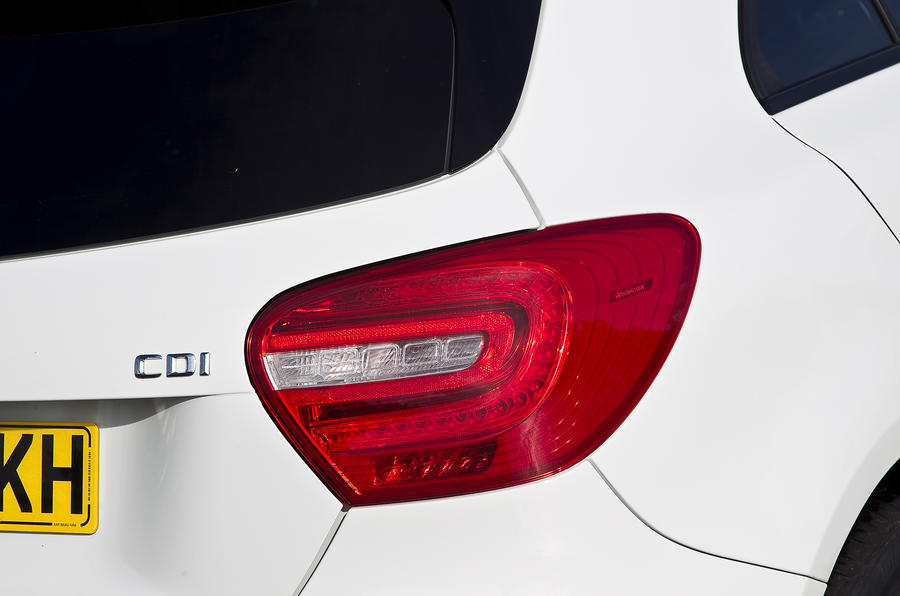 Mercedes-Benz A-Class rear lights