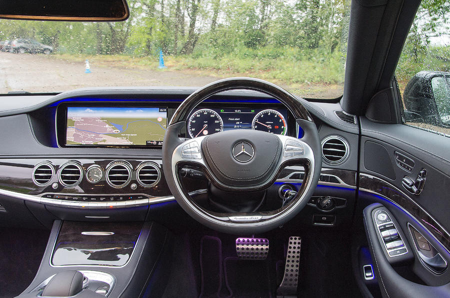 Mercedes-Benz S300 BlueTEC Hybrid UK first drive review