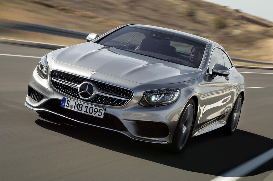 Mercedes-Benz S 500 Coupe 4Matic