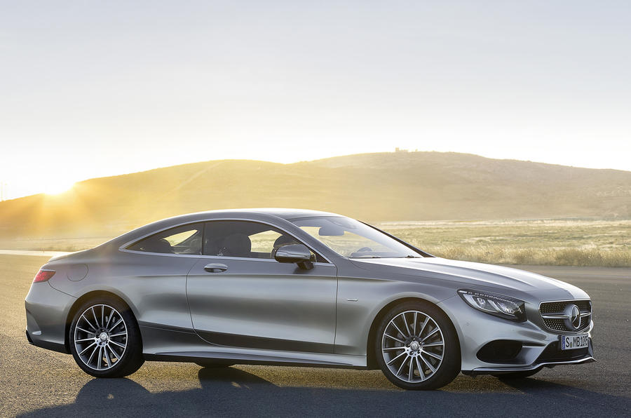 155mph Mercedes-Benz S 500 Coupe 4Matic