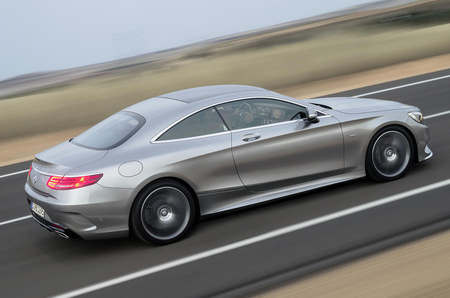 448bhp Mercedes-Benz S 500 Coupe 4Matic