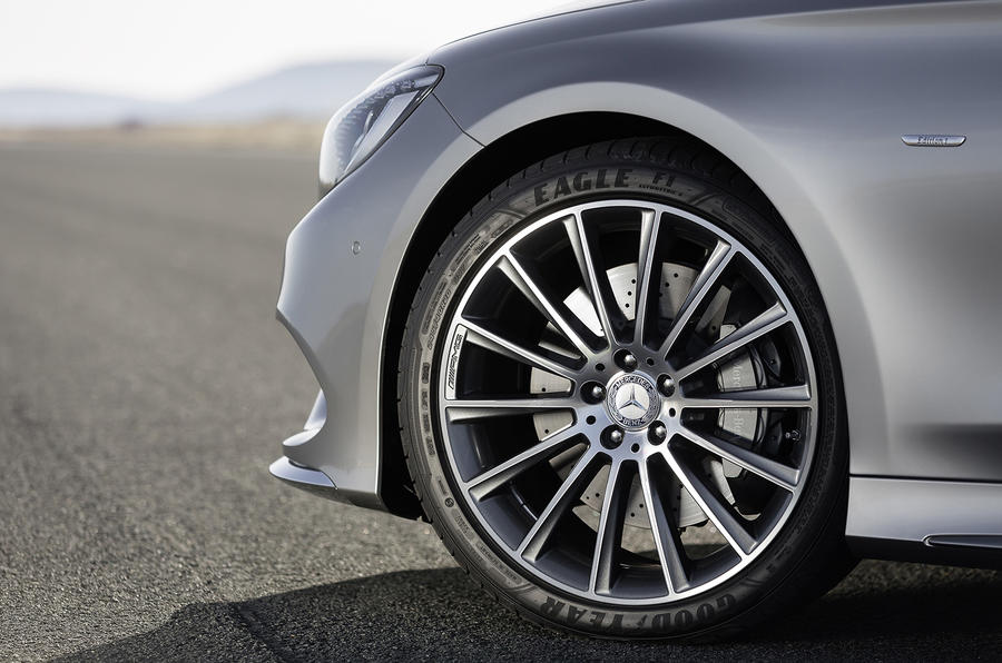 19in Mercedes-Benz S 500 Coupe 4Matic alloys