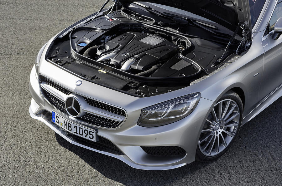 4.7-litre V8 Mercedes-Benz S 500 Coupe 4Matic engines