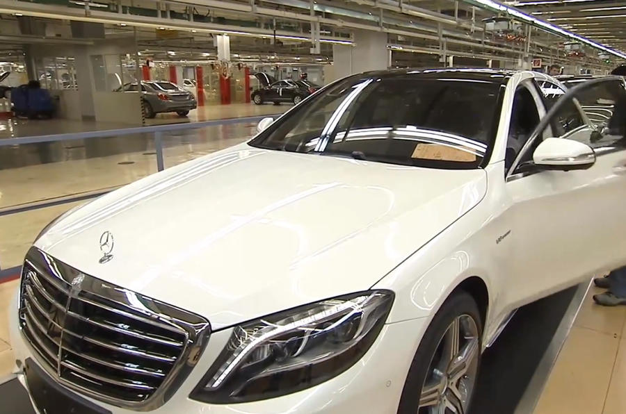 Mercedes S63 AMG pictures leaked