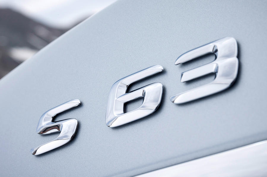 Mercedes-Benz S 63 AMG badging