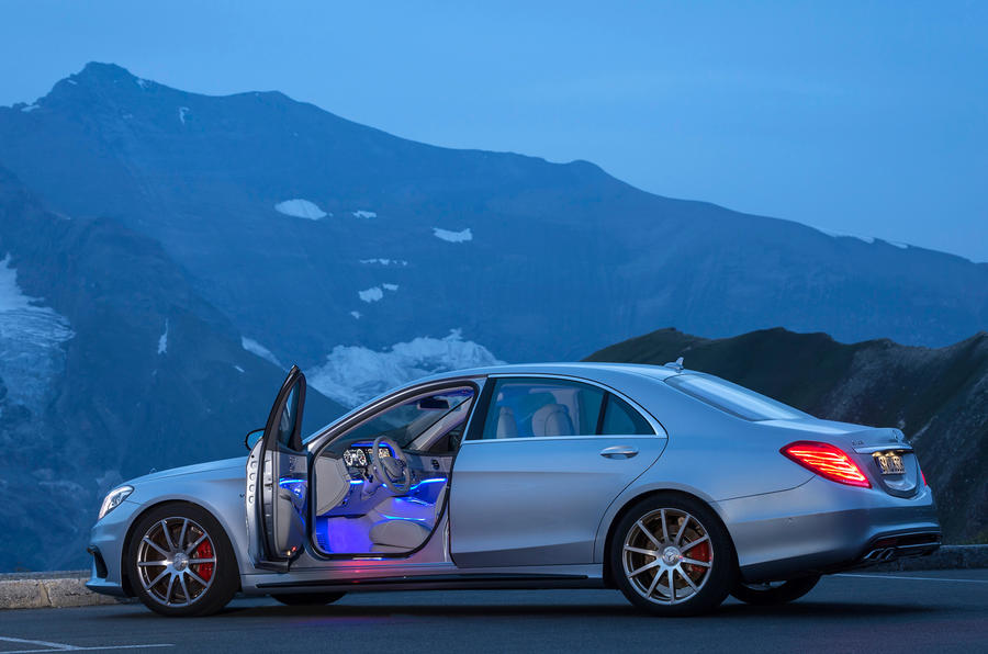 Mercedes-Benz S 63 AMG doors open