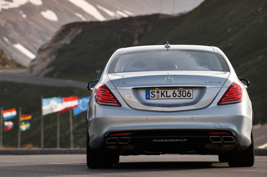 Mercedes-Benz S 63 AMG rear