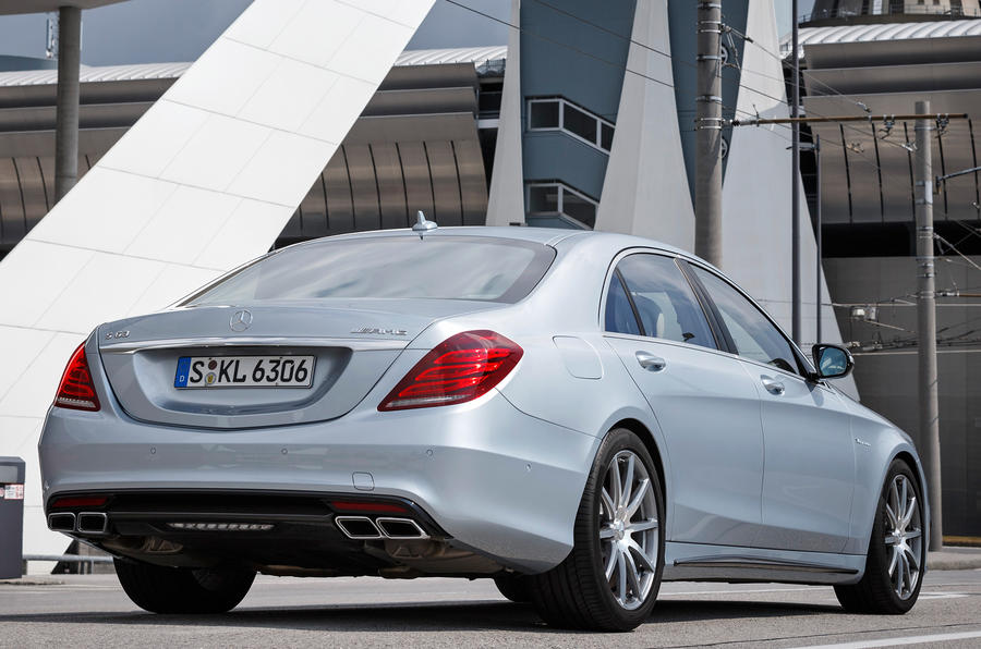 Mercedes-Benz S 63 AMG rear quarter