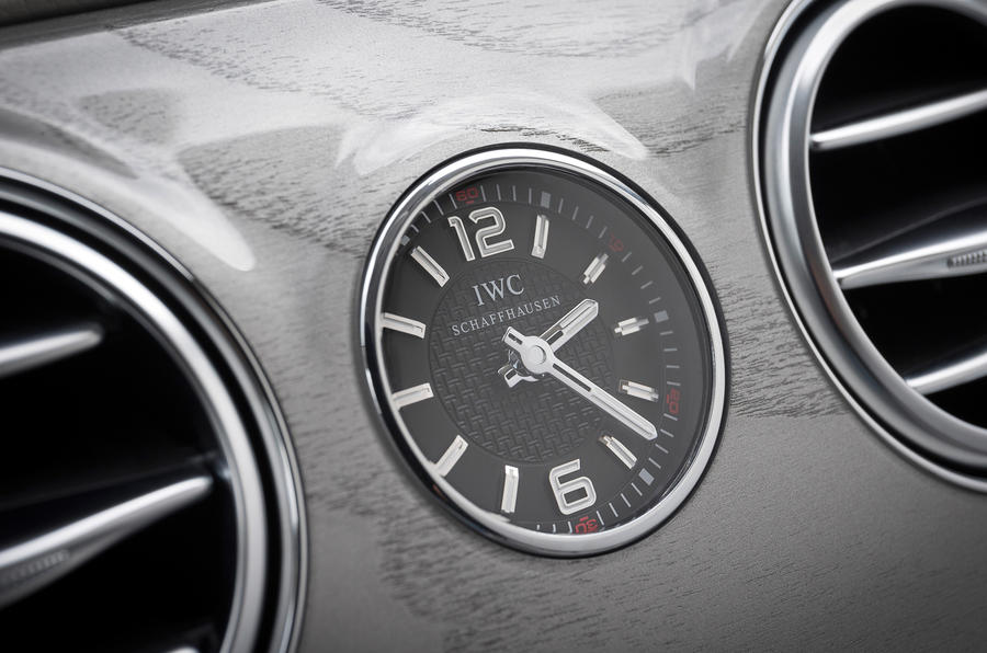 Mercedes-Benz S 63 AMG centre clock
