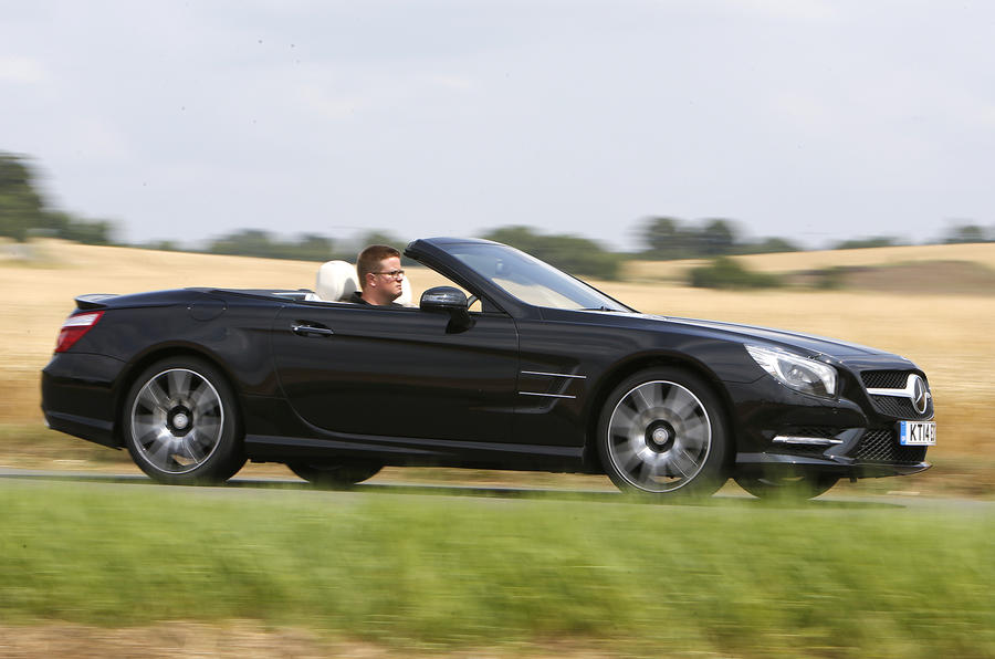 Mercedes-Benz SL400 AMG Sport first drive review