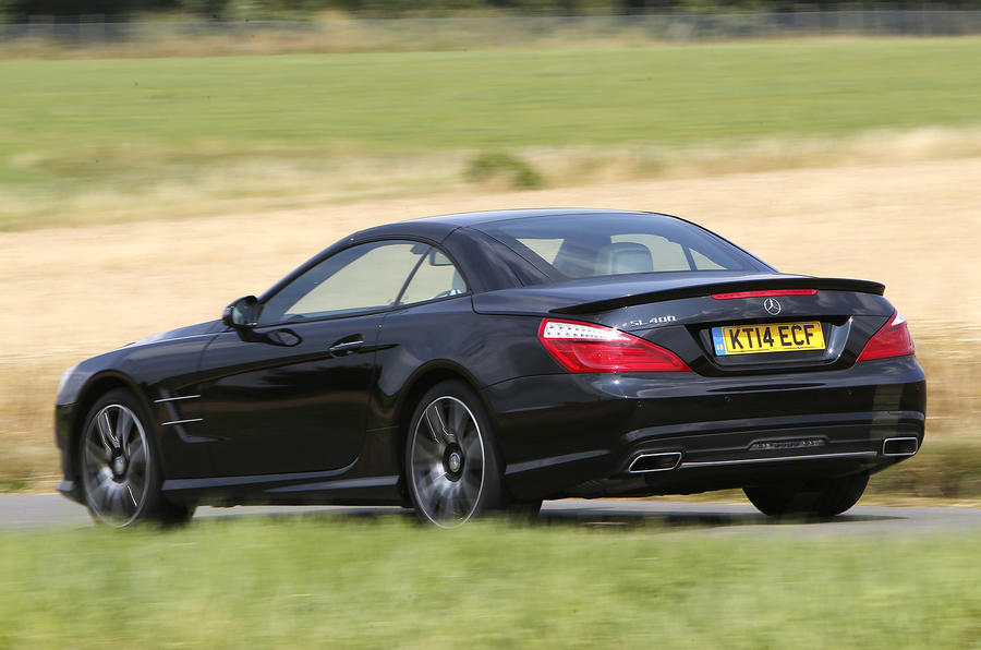 Mercedes benz sl 400 amg sport first drive for Mercedes benz sl500 price