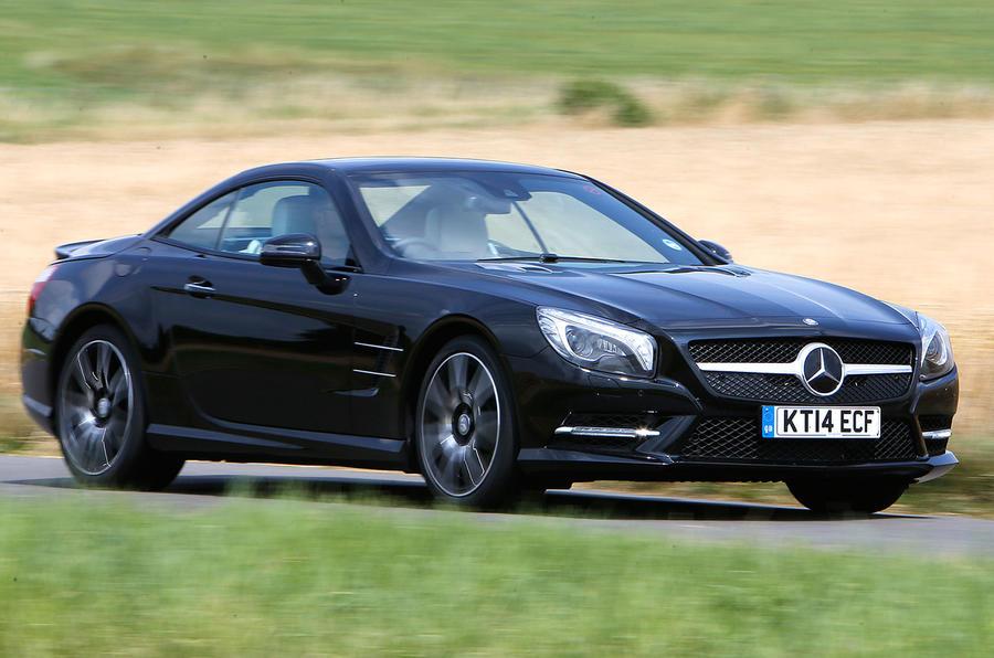 Mercedes benz sl 400 amg sport first drive for Mercedes benz sl400