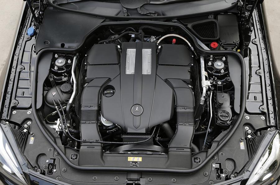 Mercedes benz sl 400 amg sport first drive for Mercedes benz 3 5 v6 engine