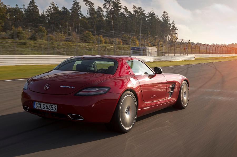 Mercedes-AMG SLS GT rear