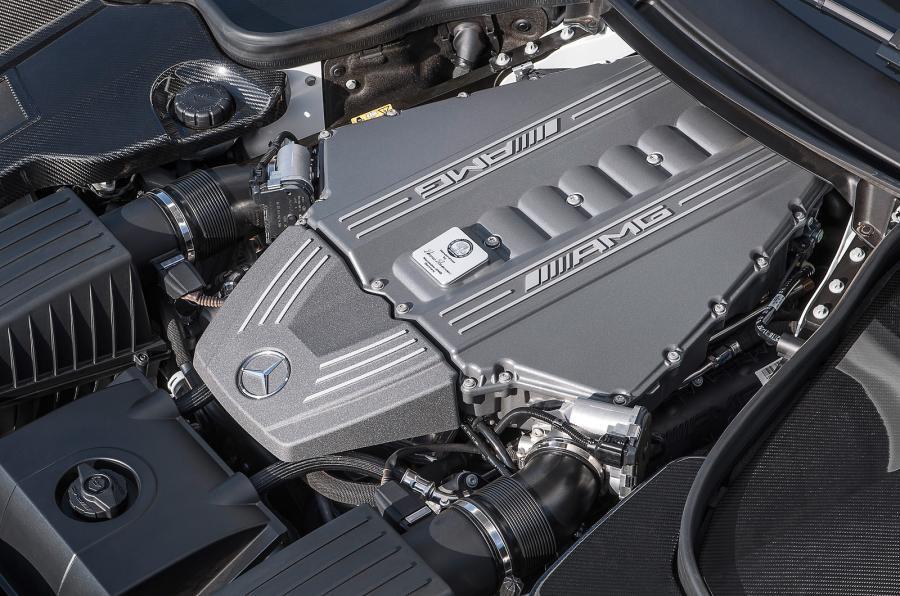 Mercedes-AMG SLS GT 6.2-litre V8 engine