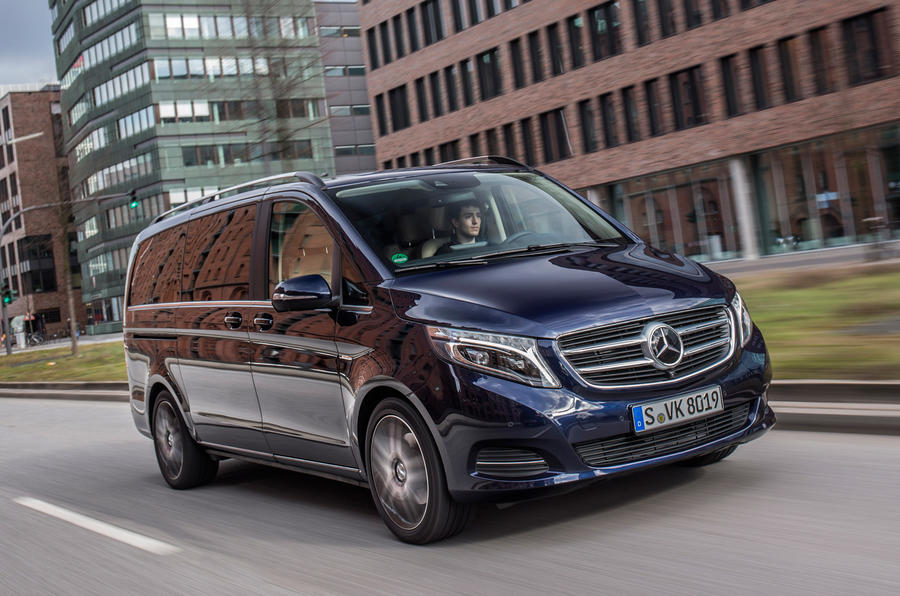2017 Mercedes Benz Metris >> Mercedes V-class V250 BlueTec first drive review