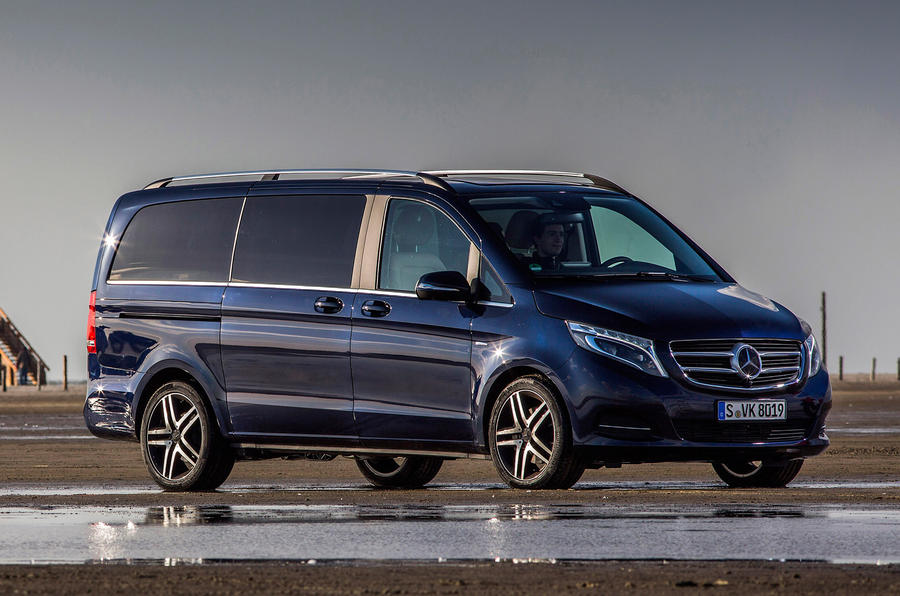 3.5 star Mercedes V250 BlueTec