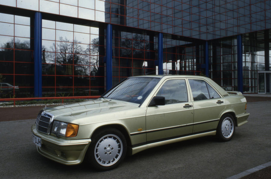 The history of mercedes benz amg picture special autocar for Mercedes benz company history