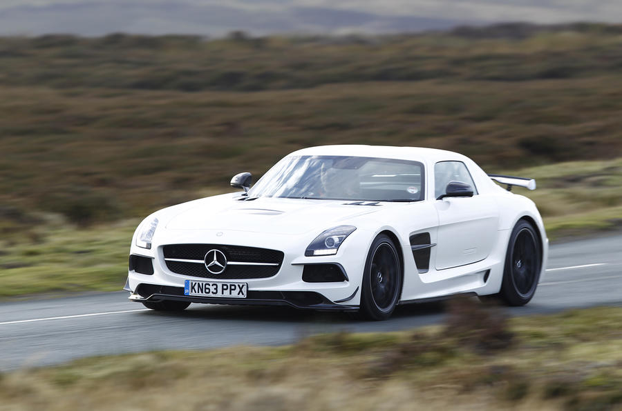 Mercedes AMG SLS Black Series ...