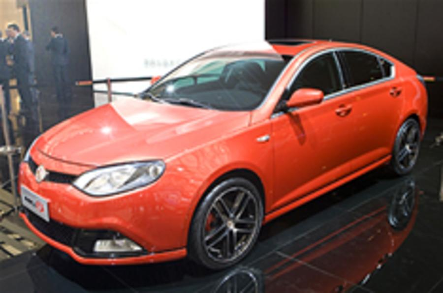 Race plans for UK-bound MG6