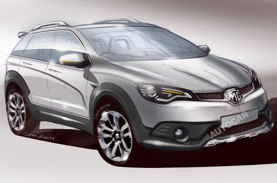 MG CS SUV concept rumoured for Shanghai reveal