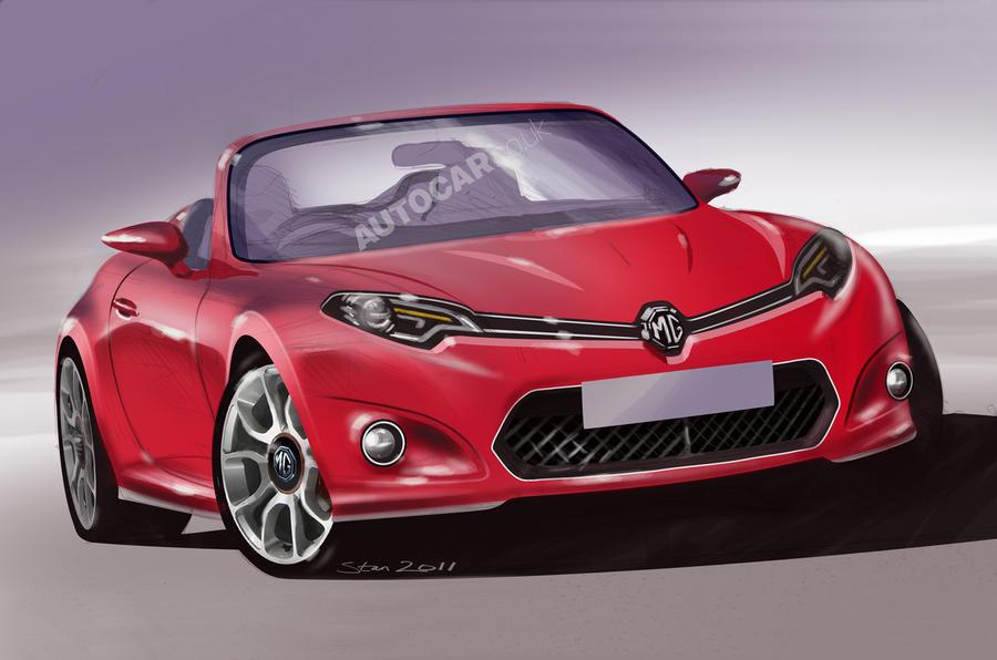mg  u0026 39 wants a new sports car u0026 39
