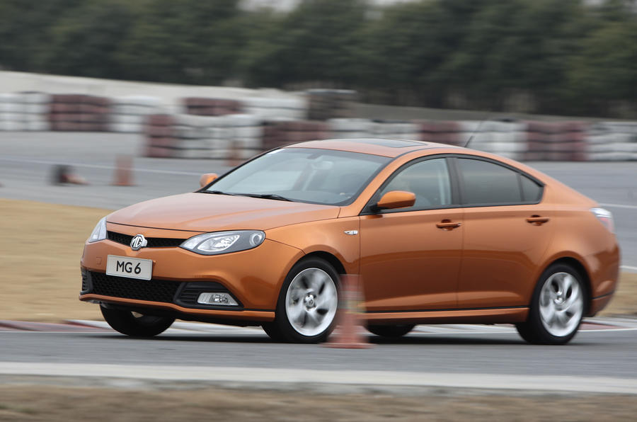 MG6 to go on sale in the UK
